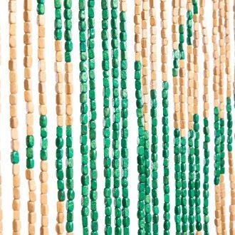 VliegengordiVliegengordijn houten kralen: Sunsetjn houten kralen: Birds