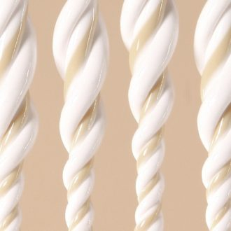DEGOR Vliegengordijn Ember: beige wit