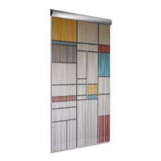 DEGOR Vliegengordijn aluminium: Mondriaan