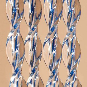 DEGOR Vliegengordijn Nica: Blauw