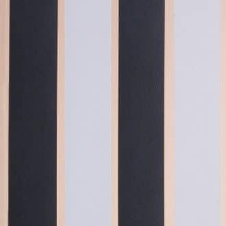 Vliegengordijn Linten HQ - zwart/wit